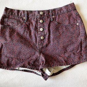 Juicy Couture High-Waisted Denim Shorts